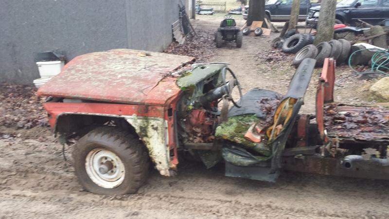 Mud bash jeep for local mudrun 20170137