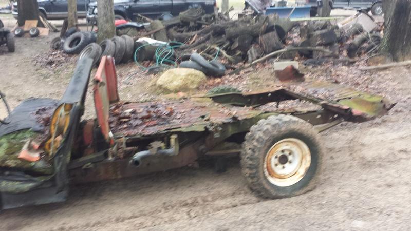 Mud bash jeep for local mudrun 20170138
