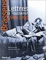 correspondances - Georges Brassens : Lettres à Toussenot 51cp1e10