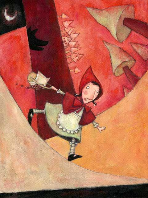 La véritable histoire du Petit Chaperon Rouge en images Ofra_a10