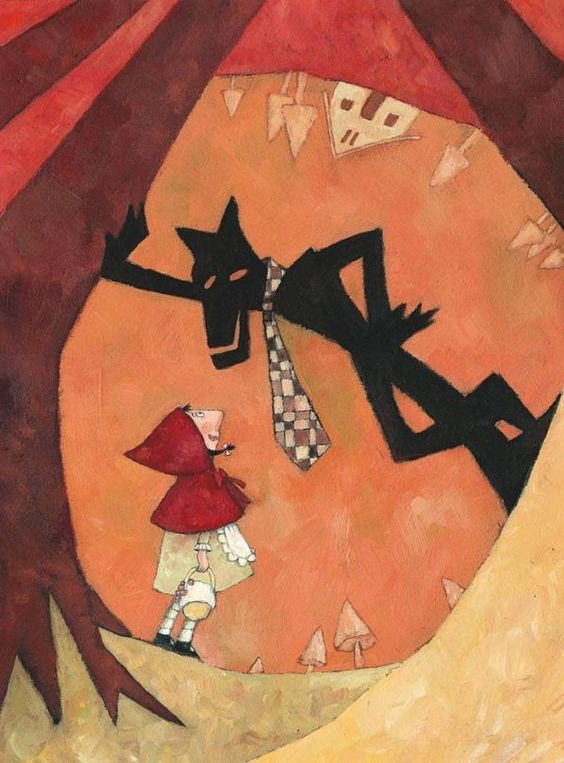 La véritable histoire du Petit Chaperon Rouge en images Ofra_a11