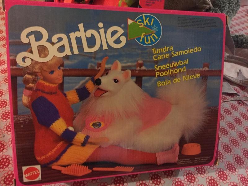 barbie - BARBIE E ACCESSORI SKY FUN ANNO 91 Cane10