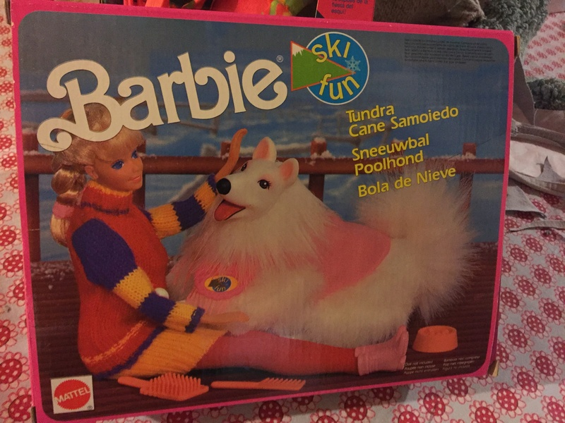 BARBIE E ACCESSORI SKY FUN ANNO 91 Cane10