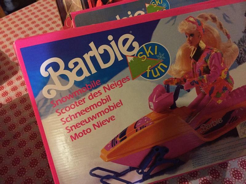 barbie - BARBIE E ACCESSORI SKY FUN ANNO 91 Moto_n10