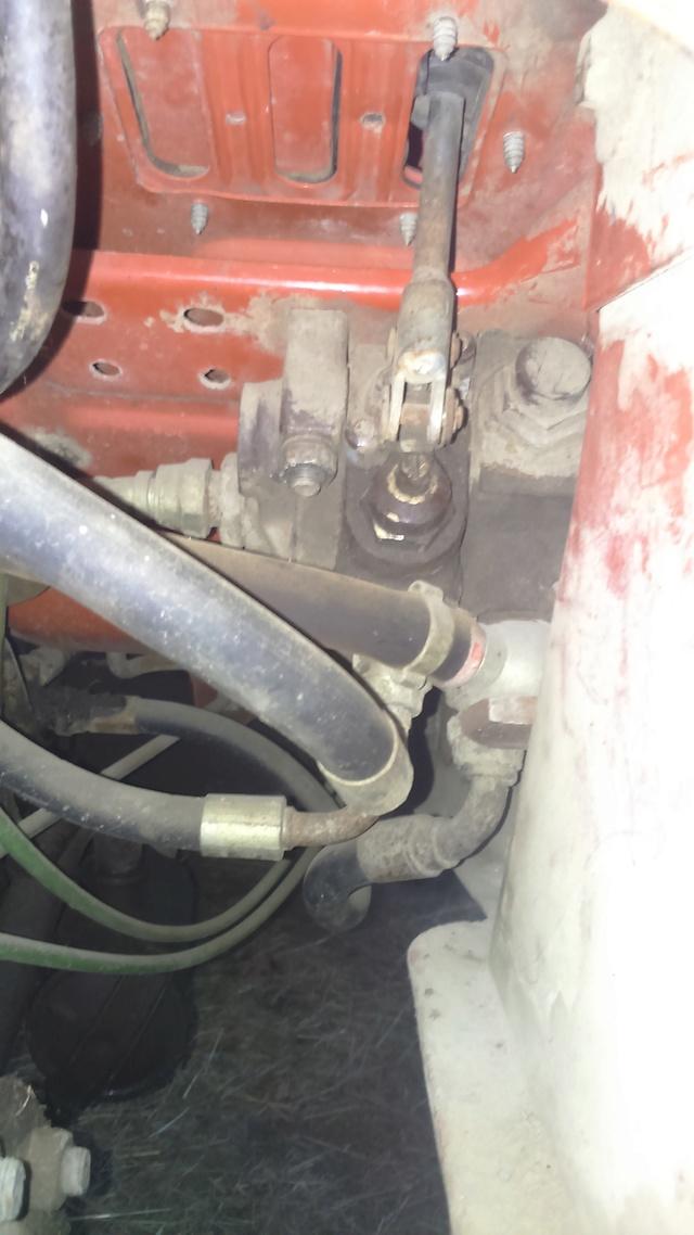 Branchement de ligne hydraulique