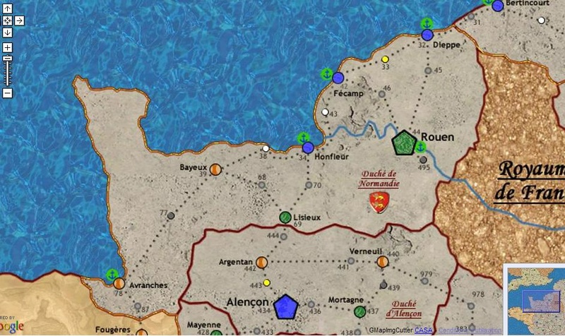 Carte Bourgogne/Bretagne/Normandie/Artois 32536510