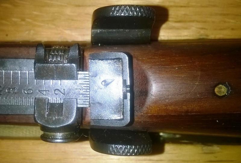 Lee Enfield n°1 Mk III* Hausse11
