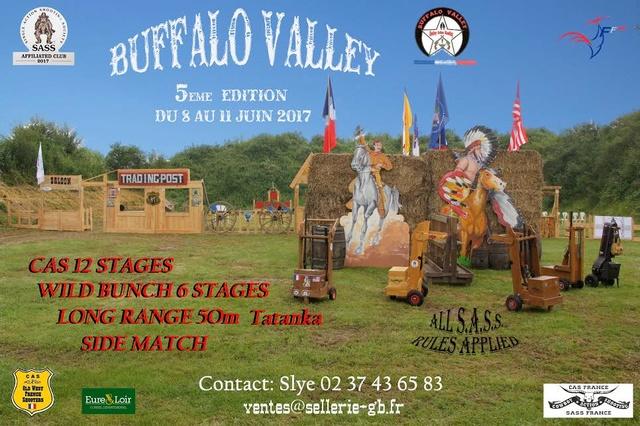 """""""BUFFALO VALLEY"""" du 8 au 11 Juin 2017 bulletin d'inscription Buffal11"""