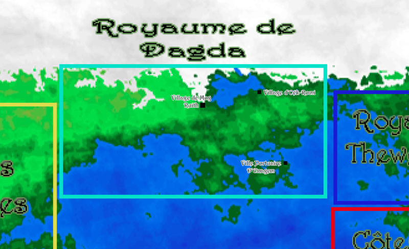 Map du Royaume de Dagda Screen12