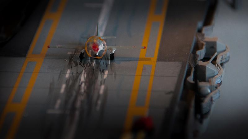 Porte avion CLEMENCEAU 1/400ème _dsc4110