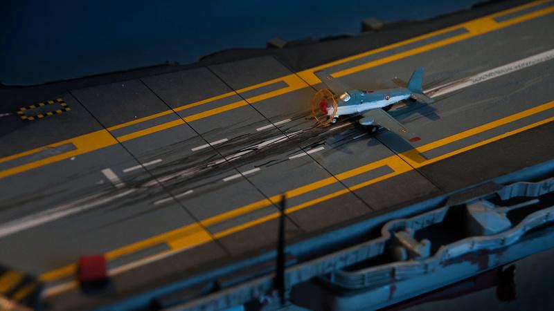Porte avion CLEMENCEAU 1/400ème _dsc4118