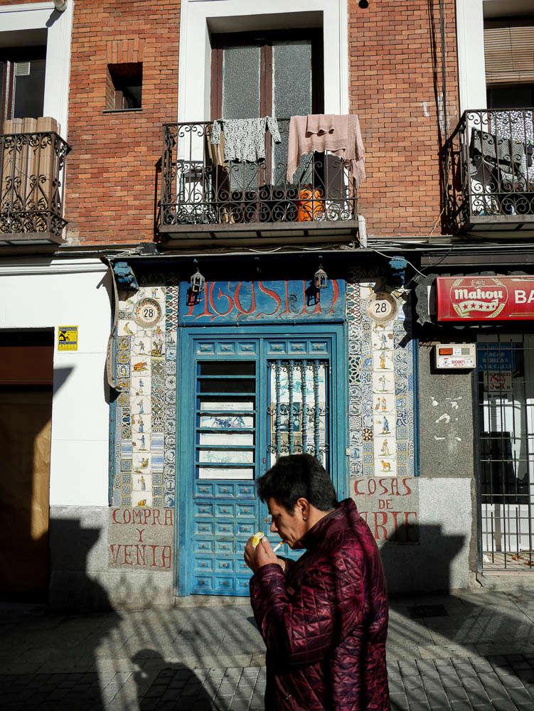 Madrid, scènes de rue P1000010