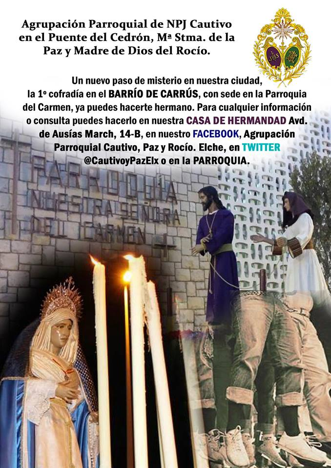 Jesús Cautivo, Paz y Rocío. 15698310