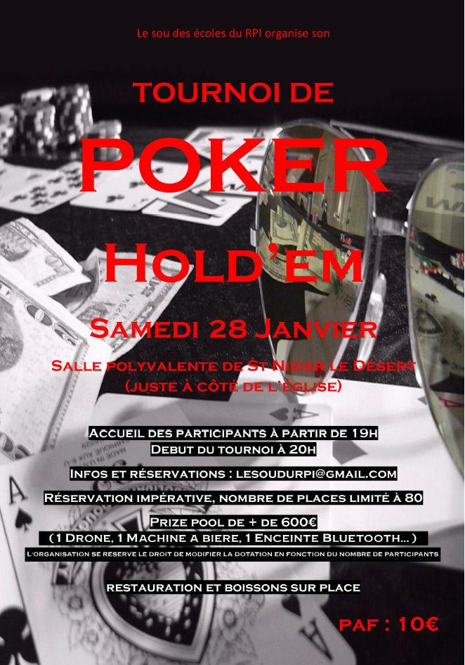 Tournoi Sou des Ecoles Saint Nizier le Désert 28/01/17 Affich10