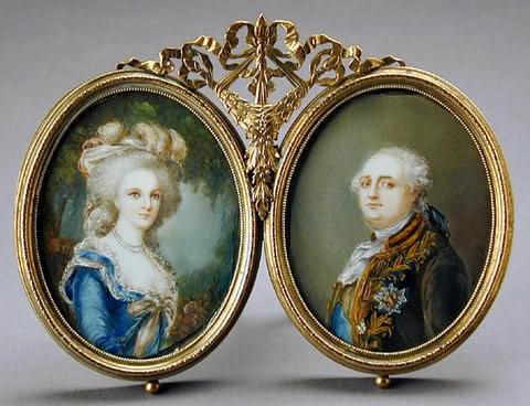 Miniatures représentant la famille royale C225da10