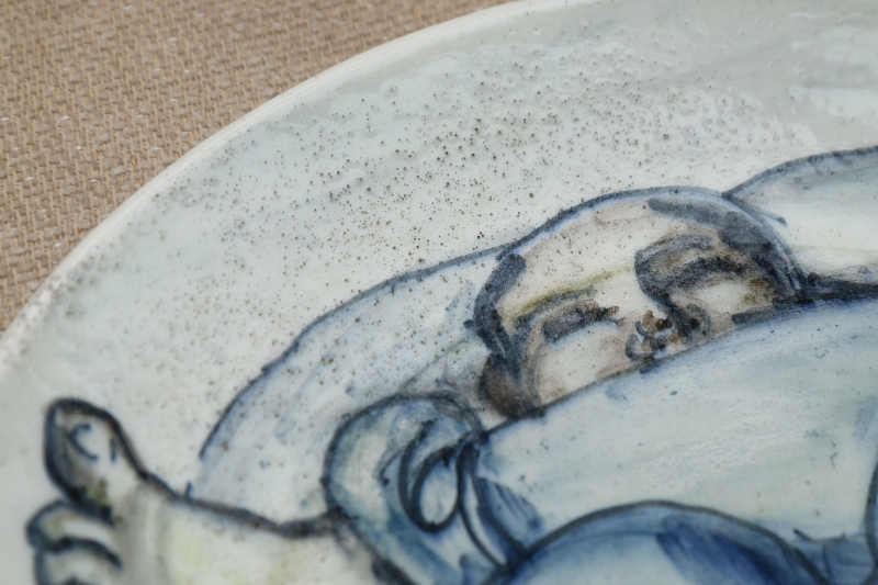Unknown But Interesting 20th Century Plate - Any clues? 00510