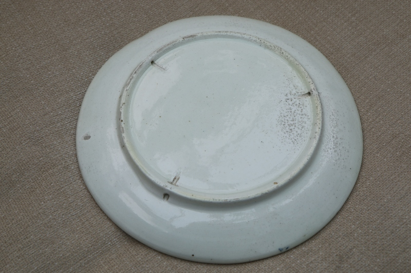 Unknown But Interesting 20th Century Plate - Any clues? 00710