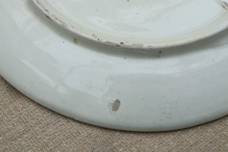 Unknown But Interesting 20th Century Plate - Any clues? 00910
