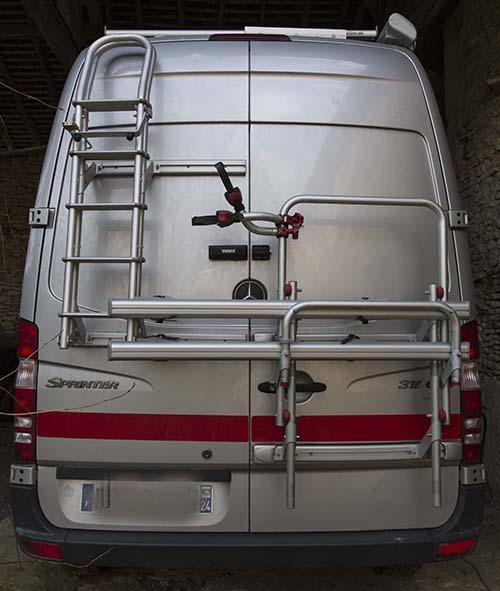 """Présentation de """"Jumbo"""" Independent Mercedes Sprinter 4x4 - Préparation et voyages Echell10"""