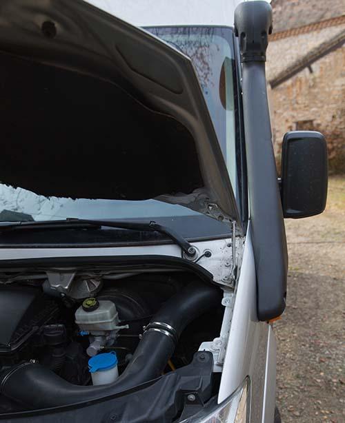 """Présentation de """"Jumbo"""" Independent Mercedes Sprinter 4x4 - Préparation et voyages Schnor10"""