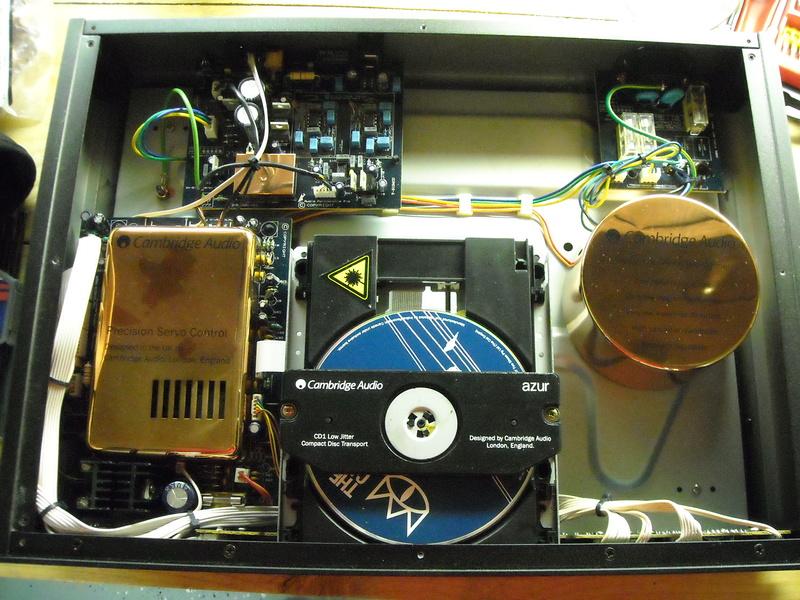 Récupérer le DAC d'un lecteur CD intégré pour un lecteur de réseau Dscn0310