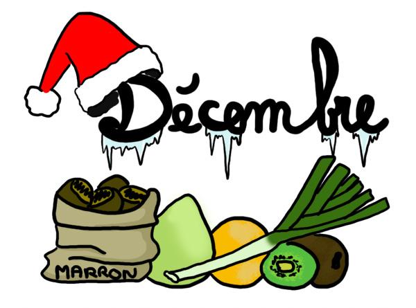Légumes et fruits  de Décembre Decemb10