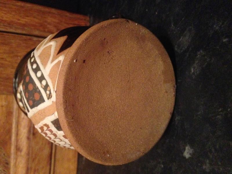 Owl slipware mug  - Alexander Sharp    Morar Pottery? Img_0115