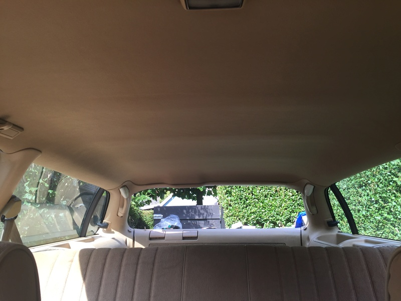 Did my headliner replacement Img_9123