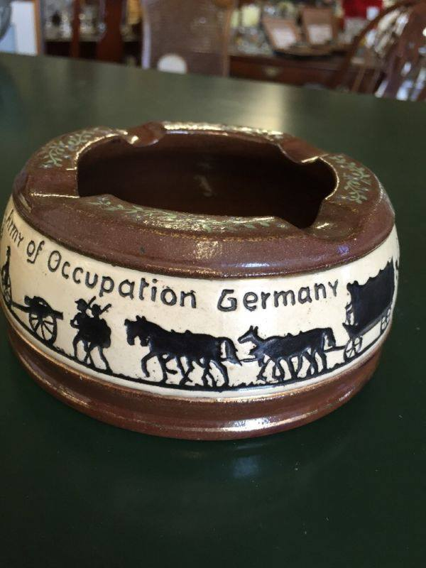 Post World One German Pottery about United States Occupation Forces 15541410