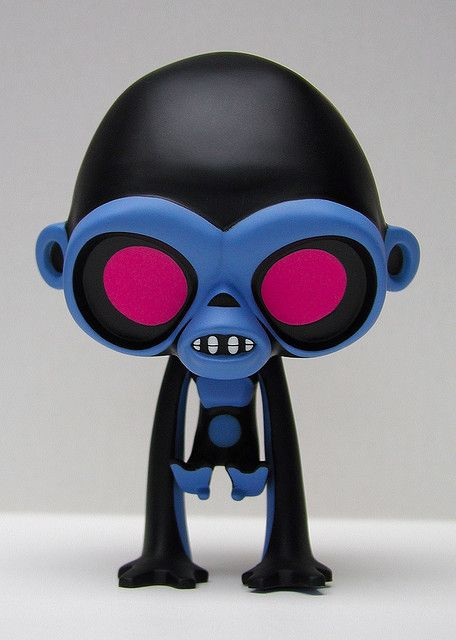 Looking for CHAOS MONKEY by Bunka - Original 2008 figure Bb937610
