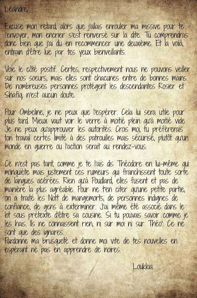 Léandre Rosier ⏏  Boîte aux Lettres Mmm10