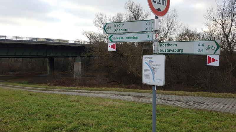 65462 Ginsheim -> Altrhein - Gustavsburg 20161223