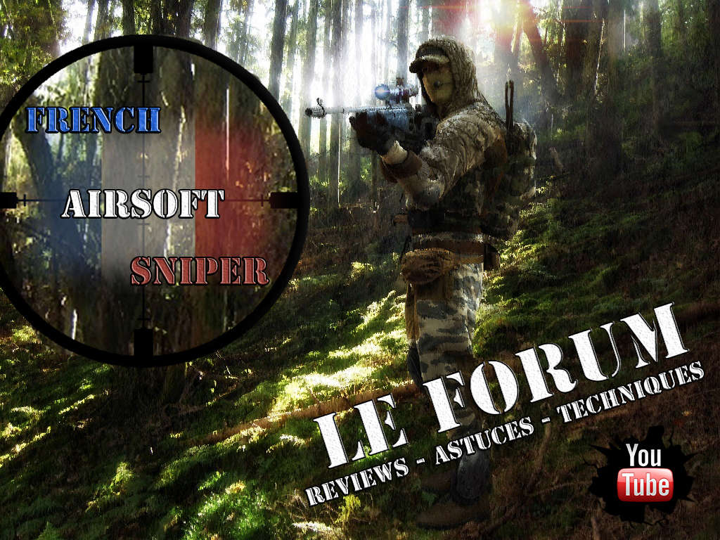 French Airsoft Sniper