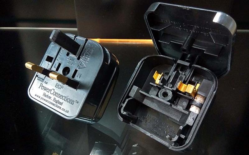 2-Pin Euro Plug to 3-Pin UK Mains Adapter 2pin_a16