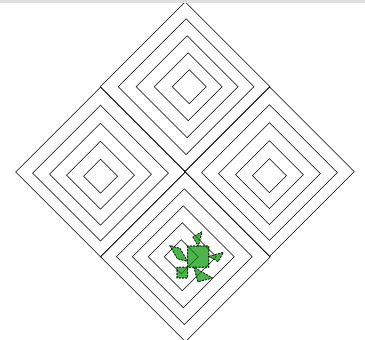 giocare con la figura del quadrato Q210