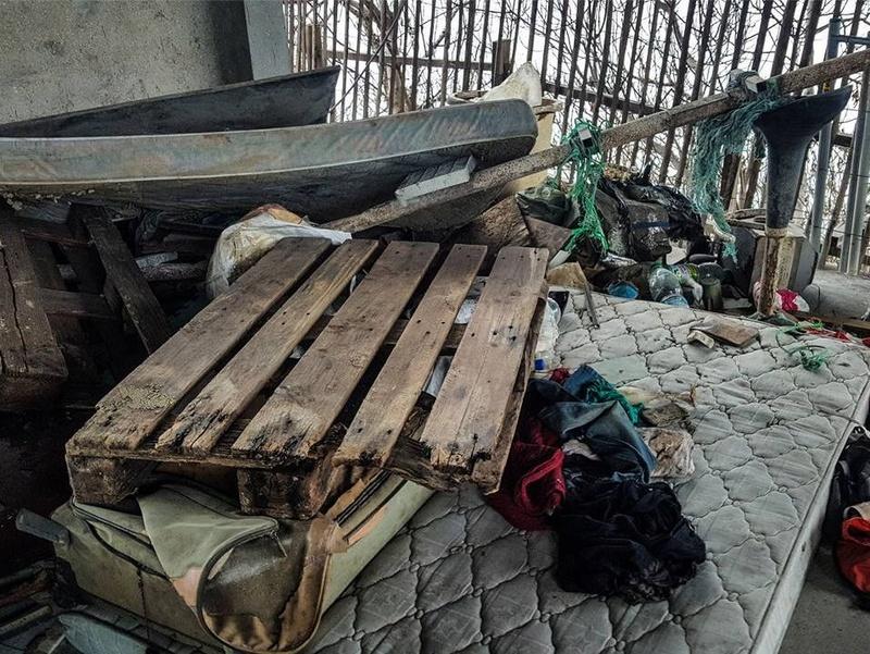 Encombrants, poubelles et caddies Clipbo40