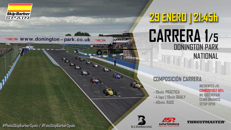 CARRERA 1/5  Donington Park NATIONAL Cabece10