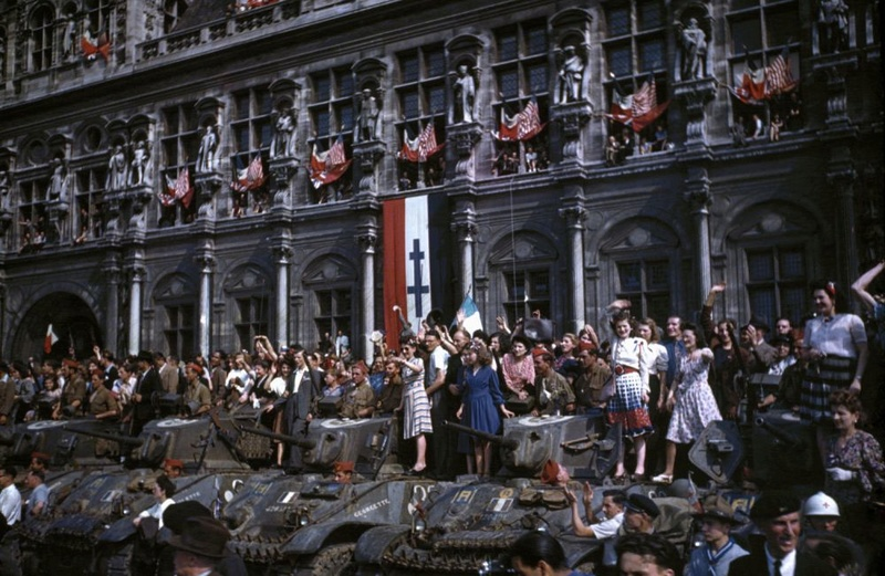 MARIANNE II, Sherman n° 34 du 3/1/1er RMSM D-day-10