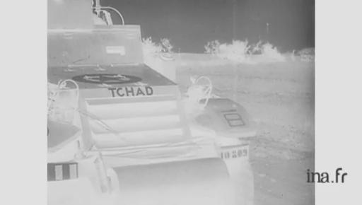 La rencontre 2ème DB — 1ère DFL le 12 septembre 1944 Tchad_10