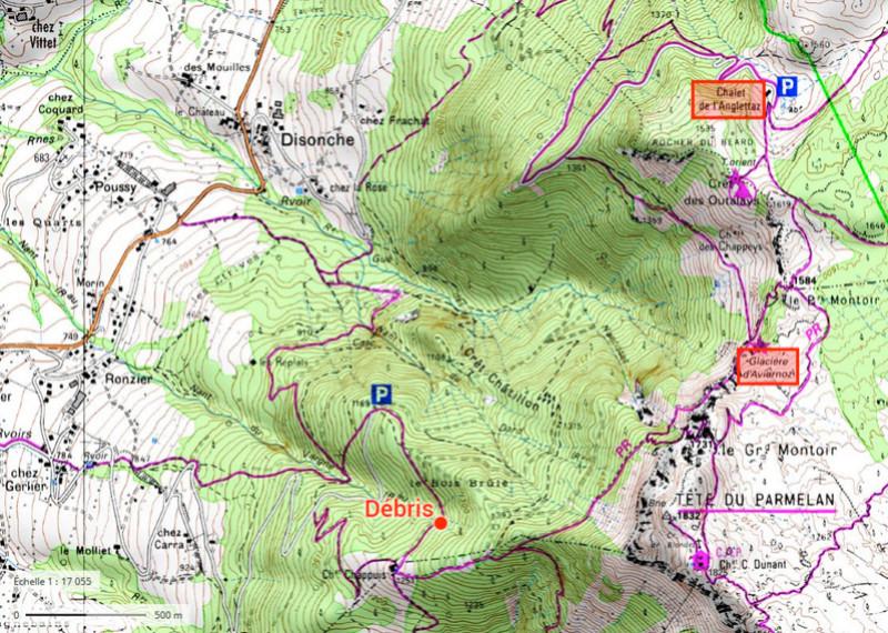 Crash mystère en Haute-Savoie en 1996 - Page 3 Carte10