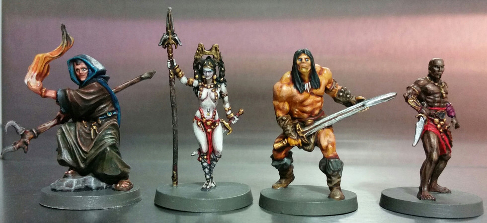 Trying to post some painted Conan minis :) 20161115