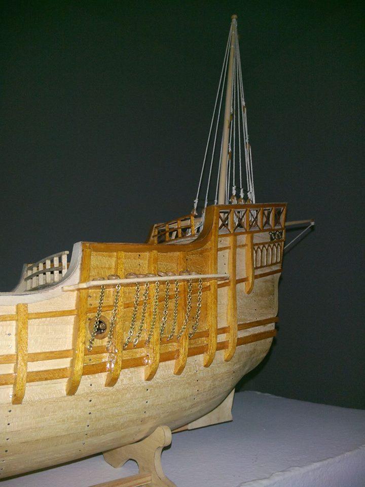 Santa Maria Kit Billing Boats 1/50 P1010