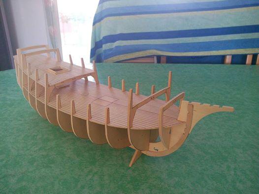 Santa Maria Kit Billing Boats 1/50 P110