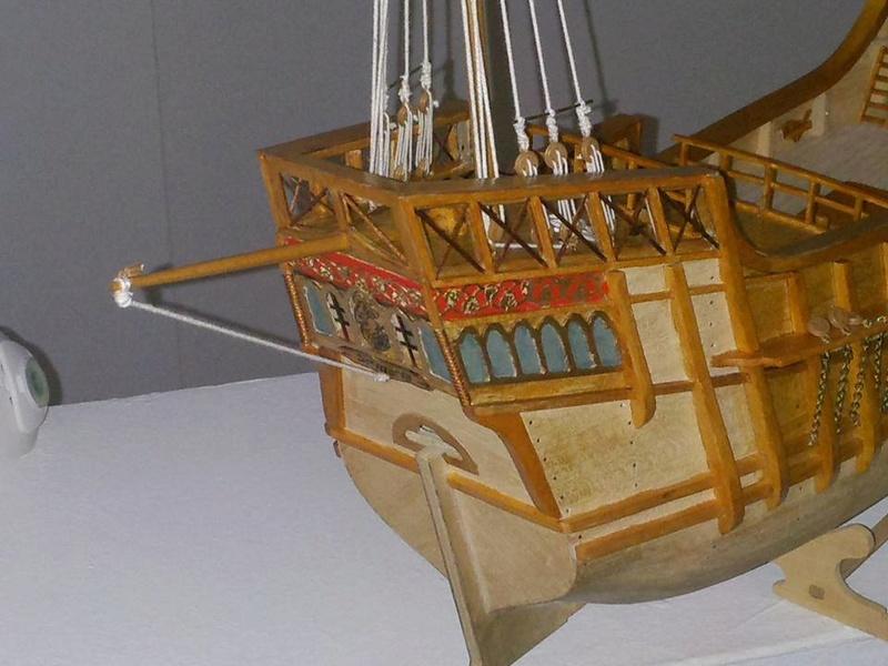Santa Maria Kit Billing Boats 1/50 - Page 2 P1310