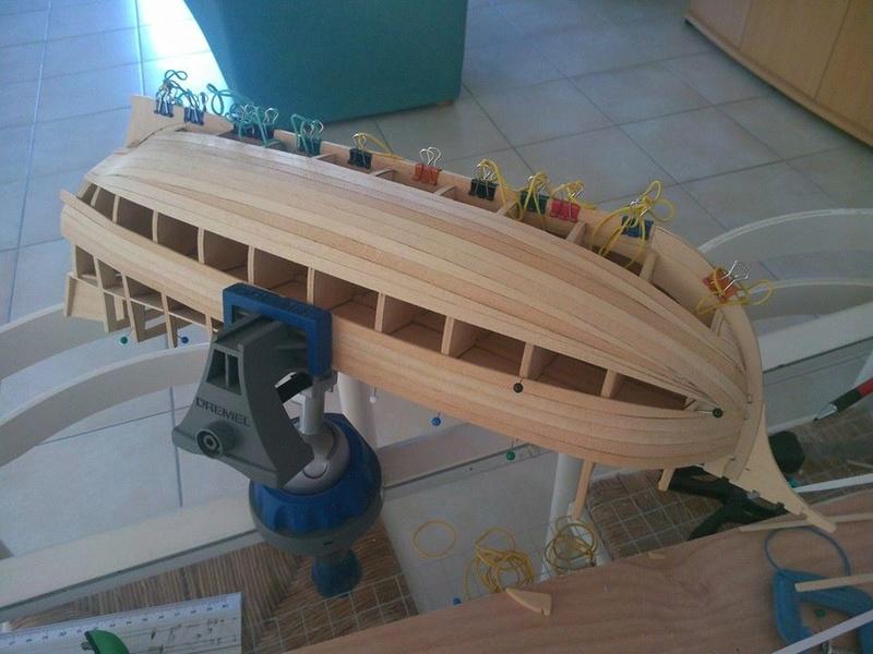Santa Maria Kit Billing Boats 1/50 P310