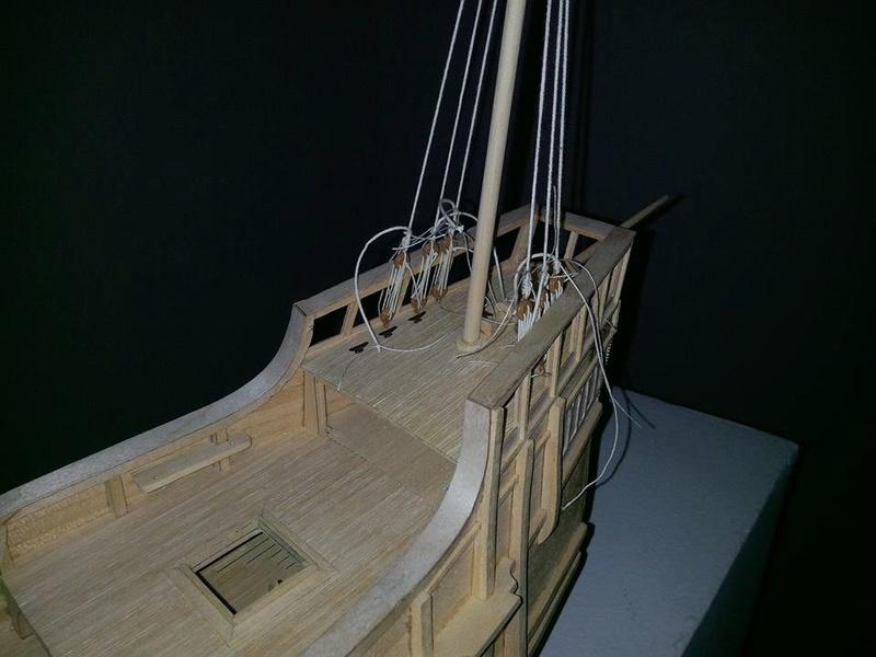 Santa Maria Kit Billing Boats 1/50 P810