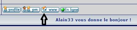 Alain33 vous donne le bonjour ! Lien10
