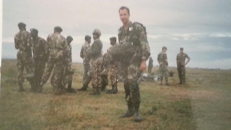 Kenya Army's 20th Parachute Battalion 20140310