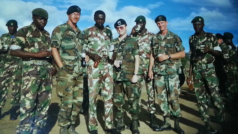 Kenya Army's 20th Parachute Battalion 20140511