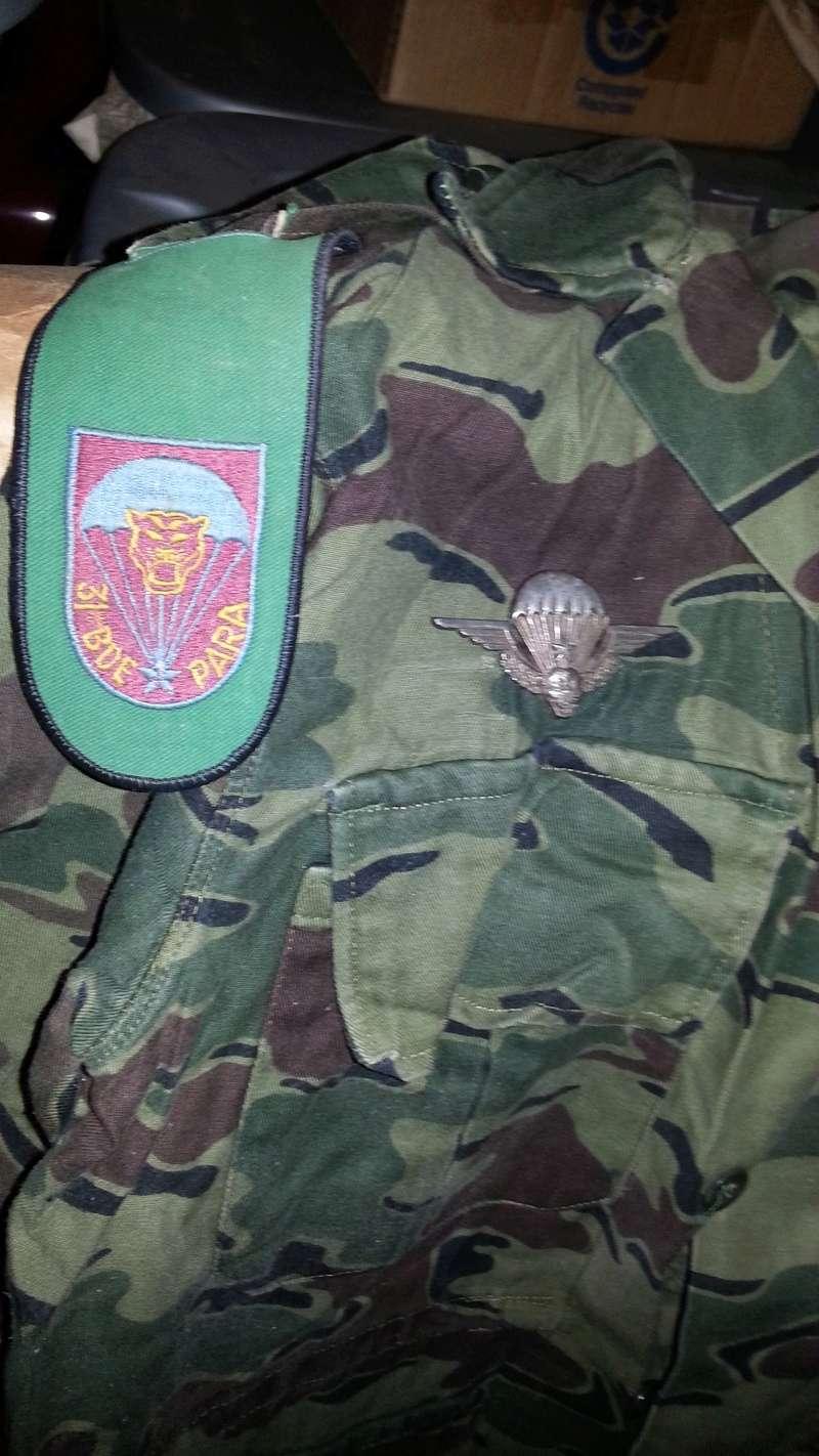 Zaire Army 31st Parachute Brigade Items 20140610